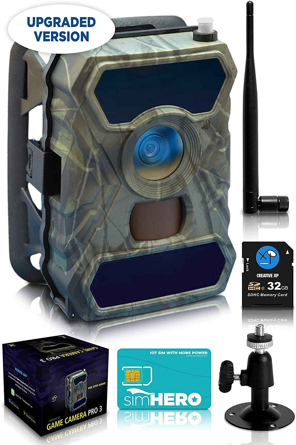 CREATIVE XP (1-Pack) Cellular Trail Cameras, 3G