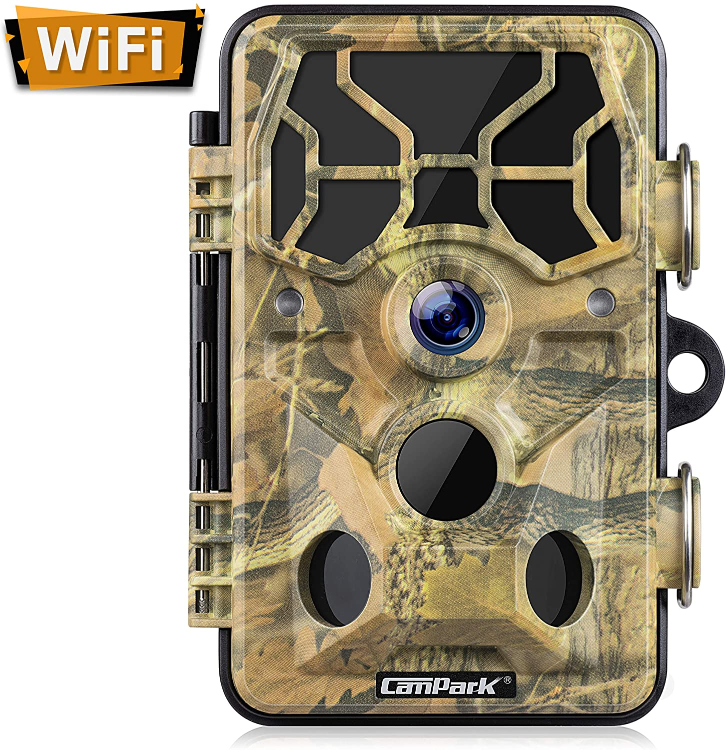 Campark 20MP 1296P Trail Camera with Night Vision