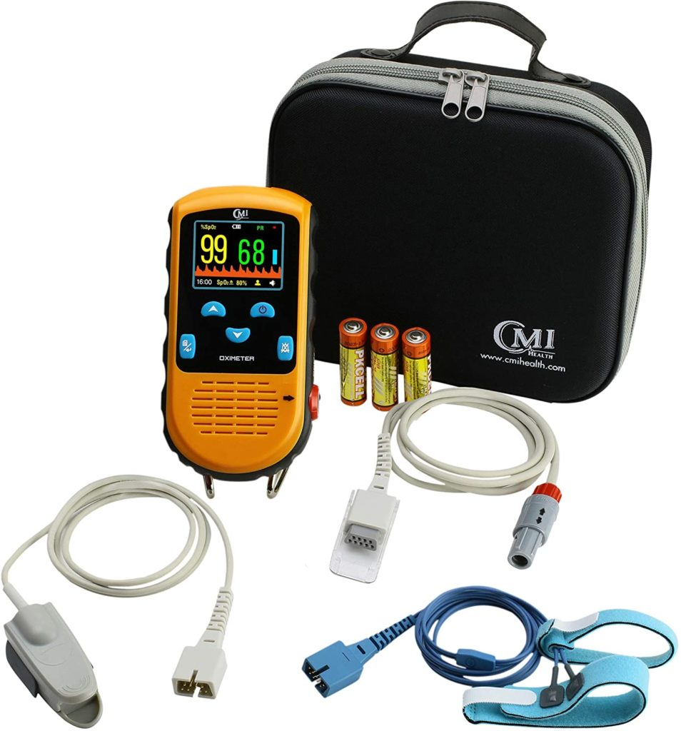 CMI Health Battery Operated Pulse Oximeter