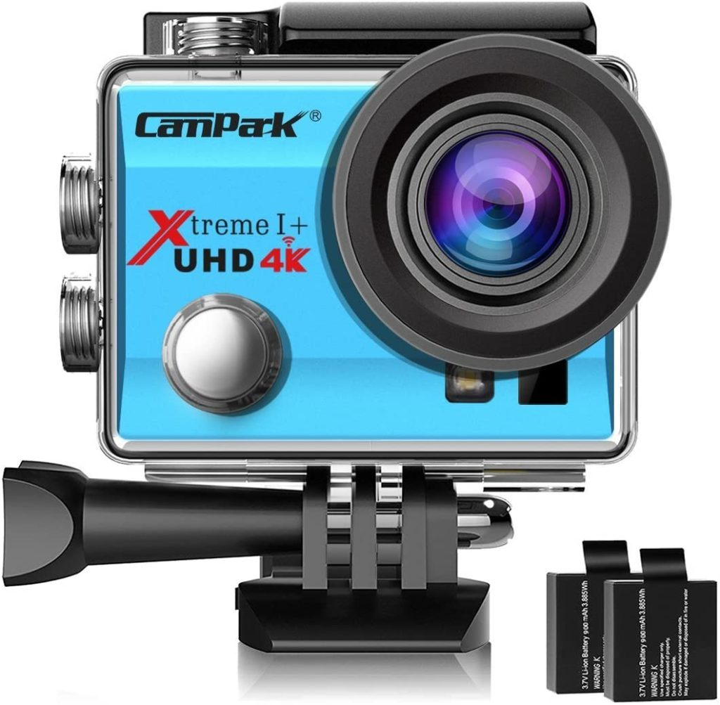 Campark ACT74 4K WiFi Waterproof Sports Camera
