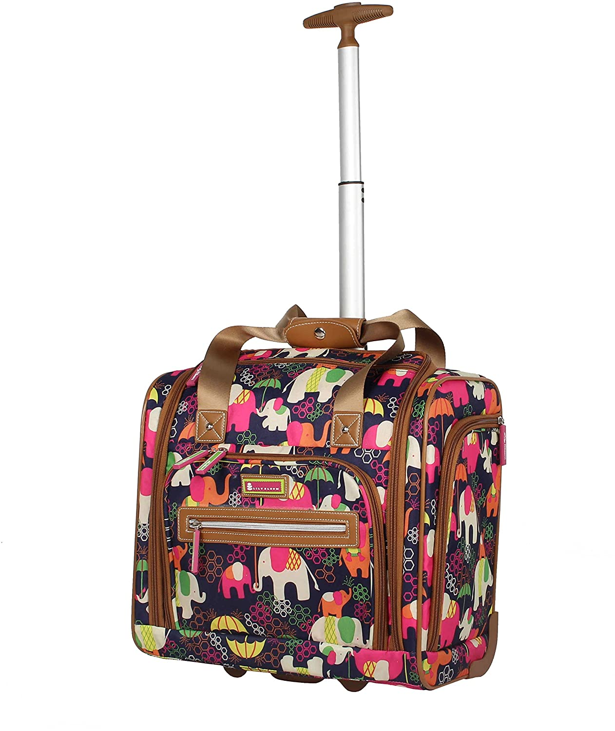 Lily Bloom Designer 15 Inch Carry On