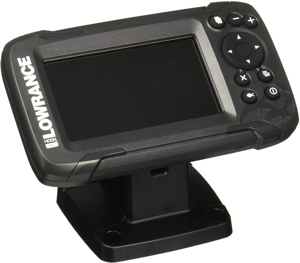 Lowrance HOOK2 4X - 4-inch Fish Finder with Bullet Skimmer Transducer