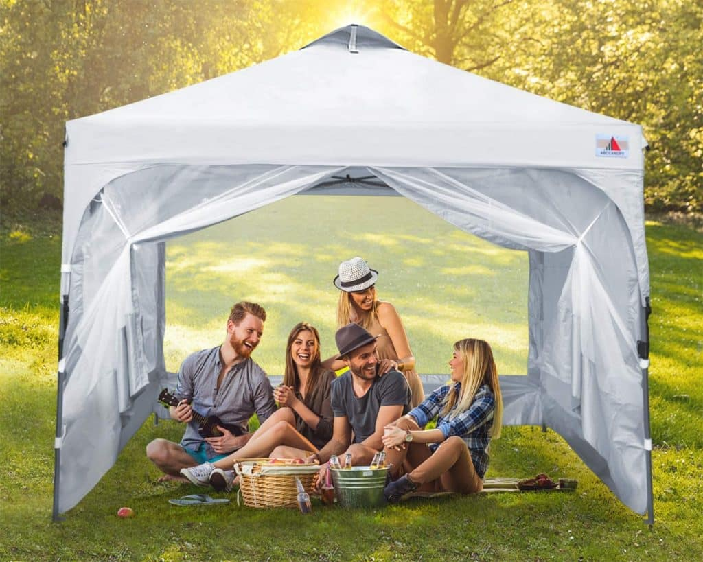 ABCCANOPY Pop Up Canopy with Mesh Mosquito
