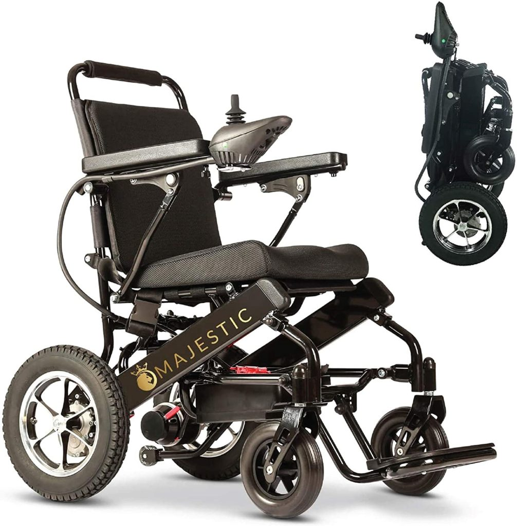 MedicalCare Deluxe Electric Wheelchair
