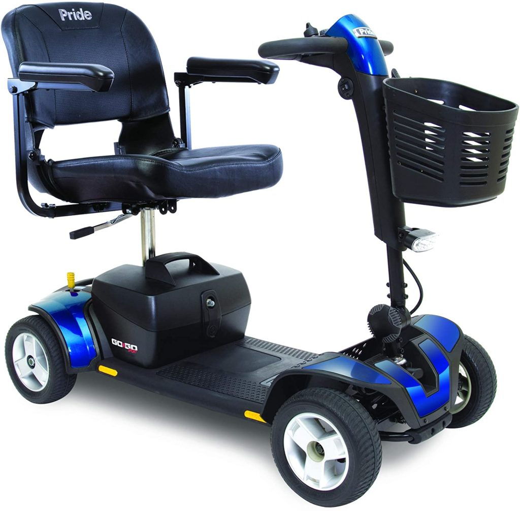 Pride Mobility S74 4-Wheel Mobility Scooter For Adults