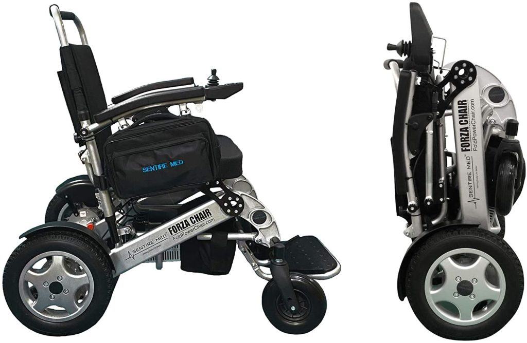 Sentire Med Forza FCX Deluxe Compact Mobility Aid Wheel Chair