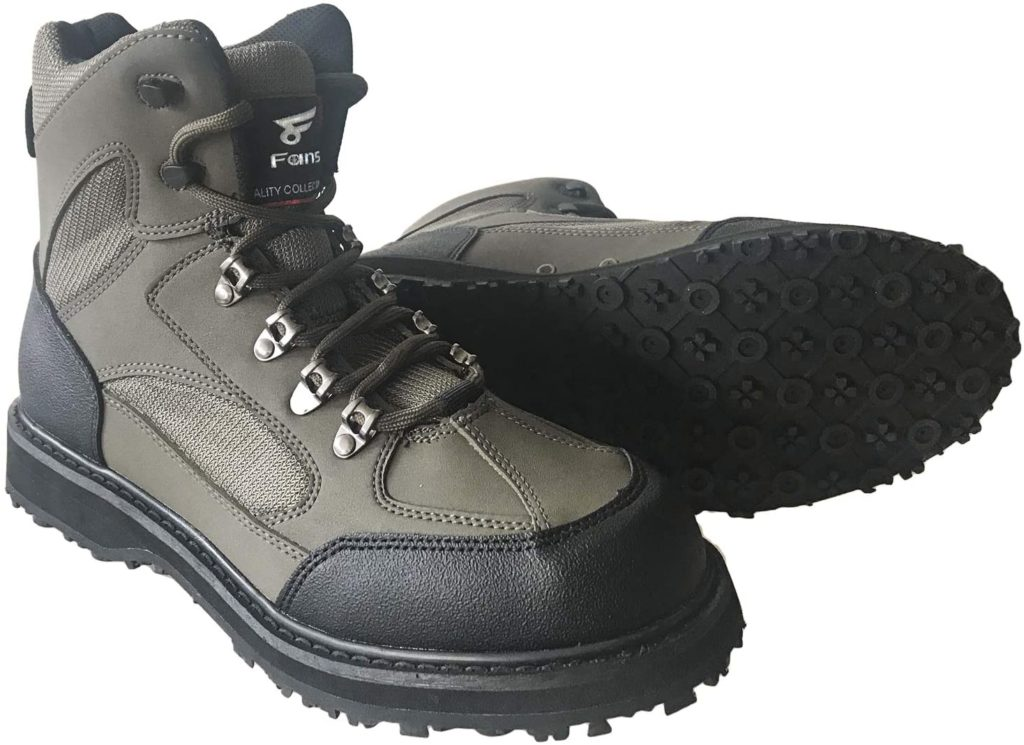 8 Fans Men's Fishing Hunting Wading Boots
