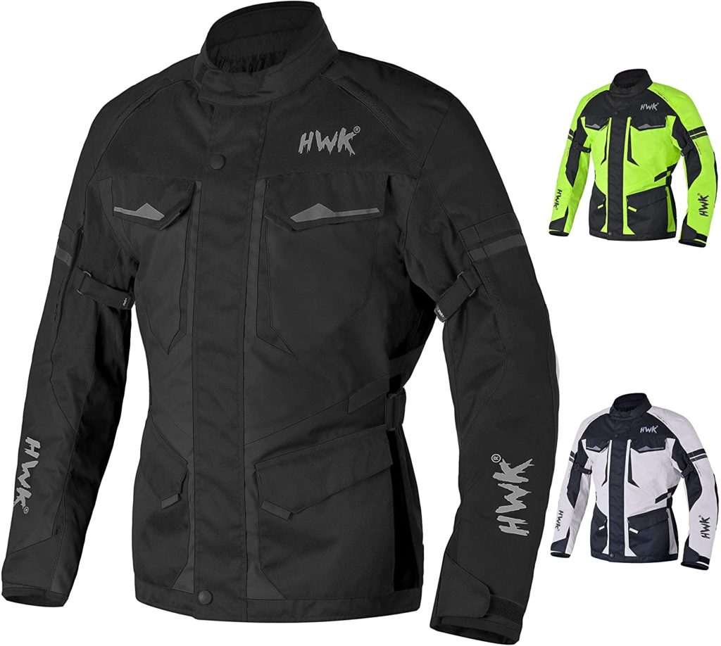 Adventure Touring Motorcycle Jacket by HWK