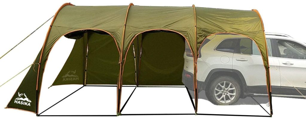 Family Camping Tunnel Tent by Hasika Store