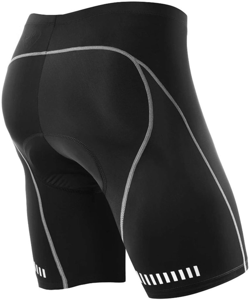 NOOYME Men's 3D Gel Padded Bicycle Riding Shorts