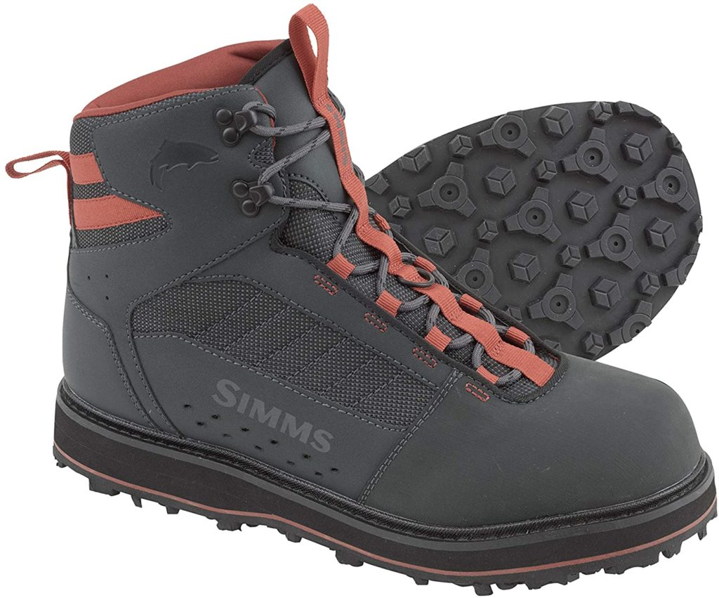Simms Tributary Rubber Sole Wading Boots