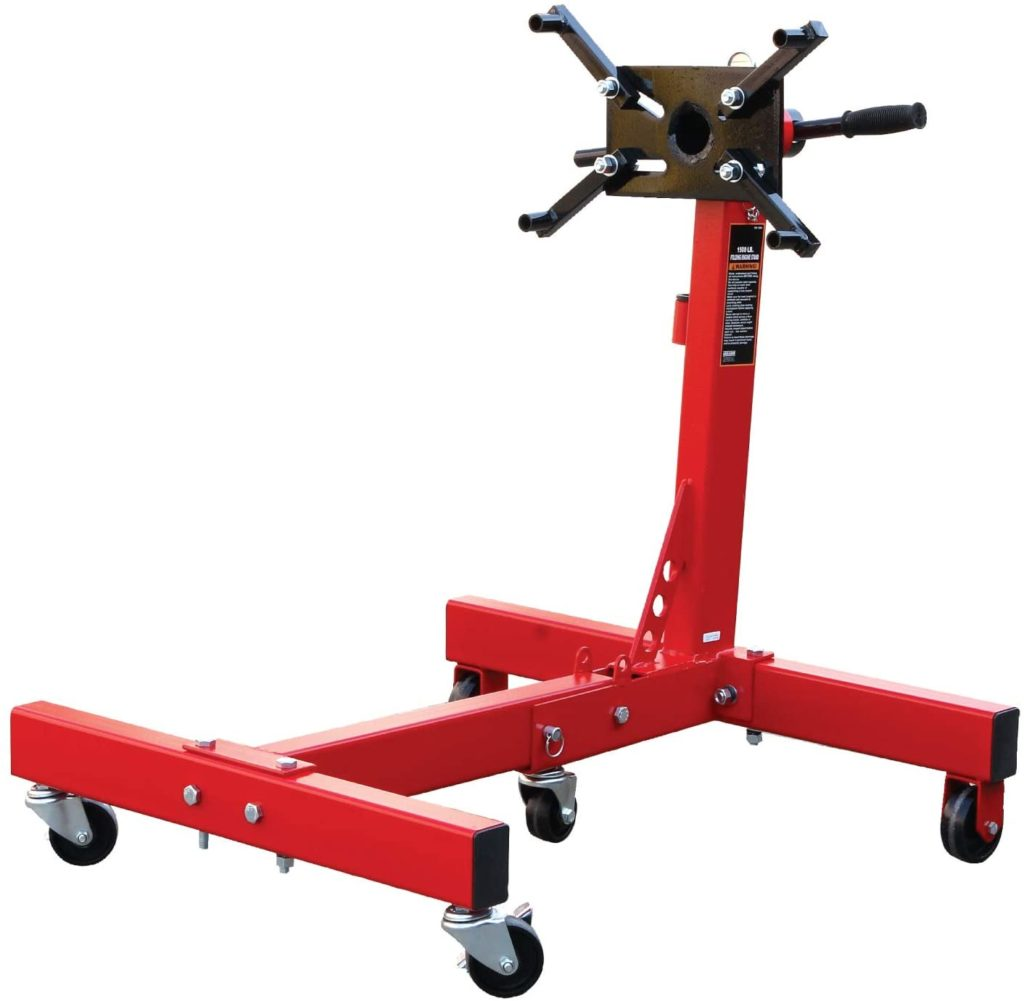 BIG RED T26801 Torin Steel Rotating Engine Stand (1,500 lb)
