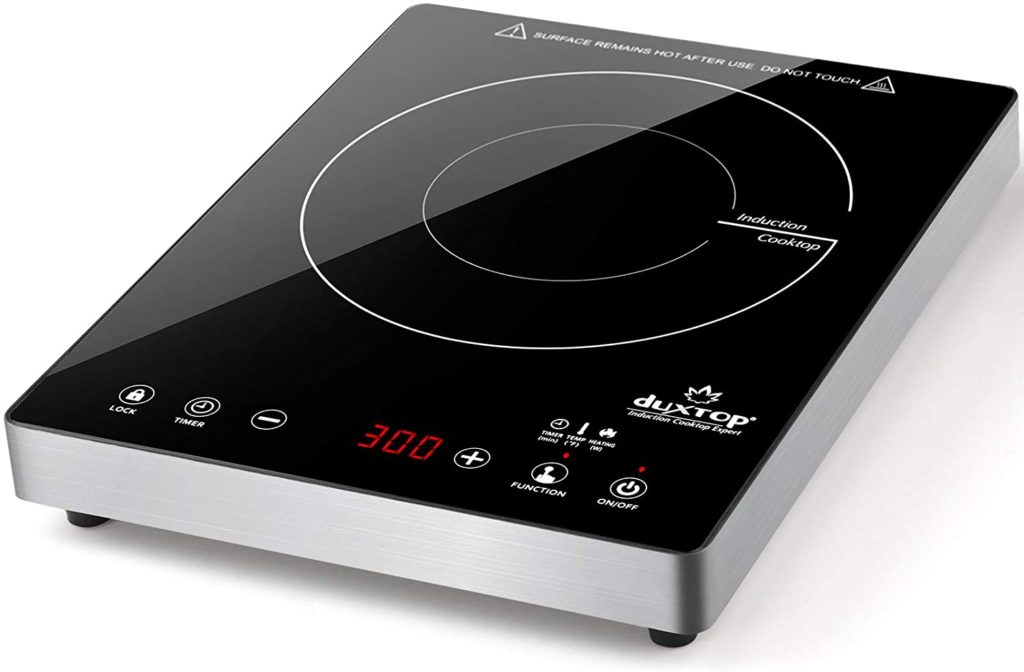 Duxtop Portable Induction Cooktop, with Stainless Steel Housing