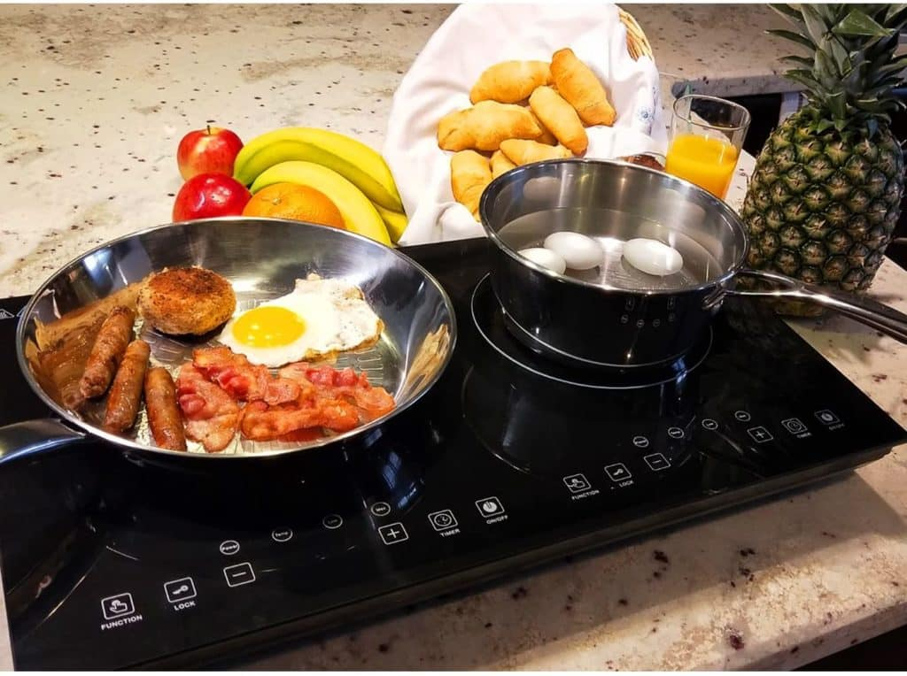 Evergreen Home Double Induction cooker Cooktop