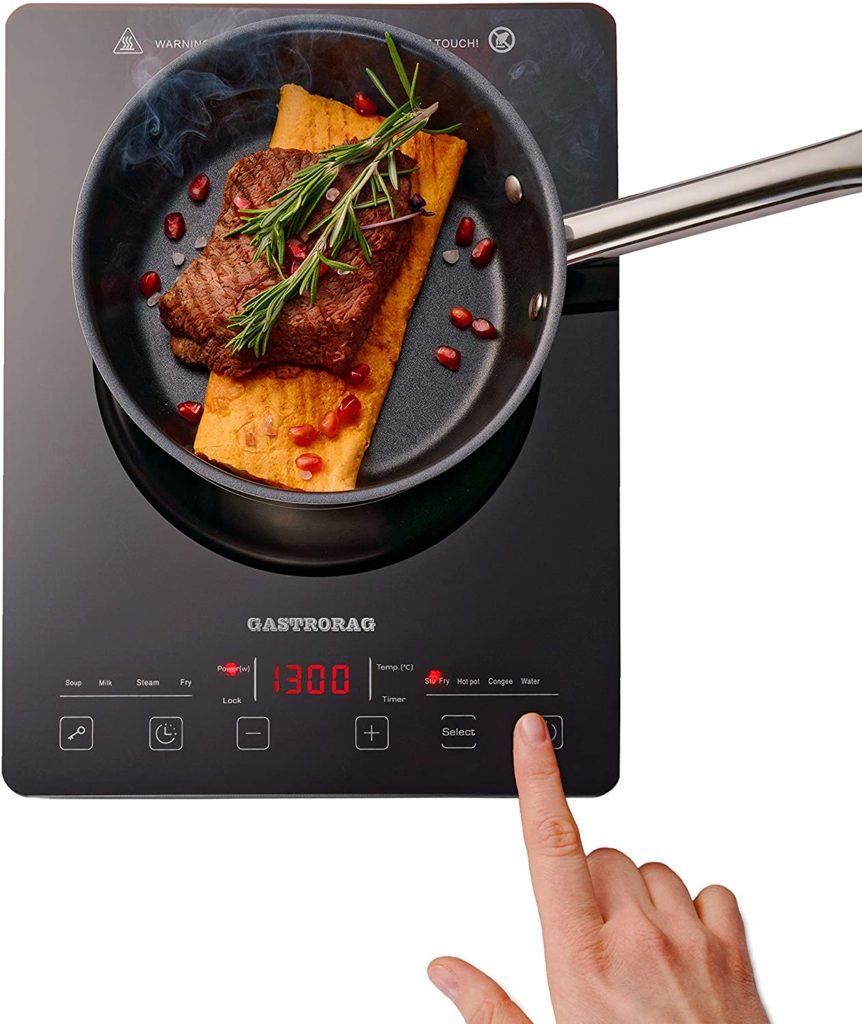 Gastrorag 1300W ULTRA-THIN AND Induction Cooktop-IP-20SLIM
