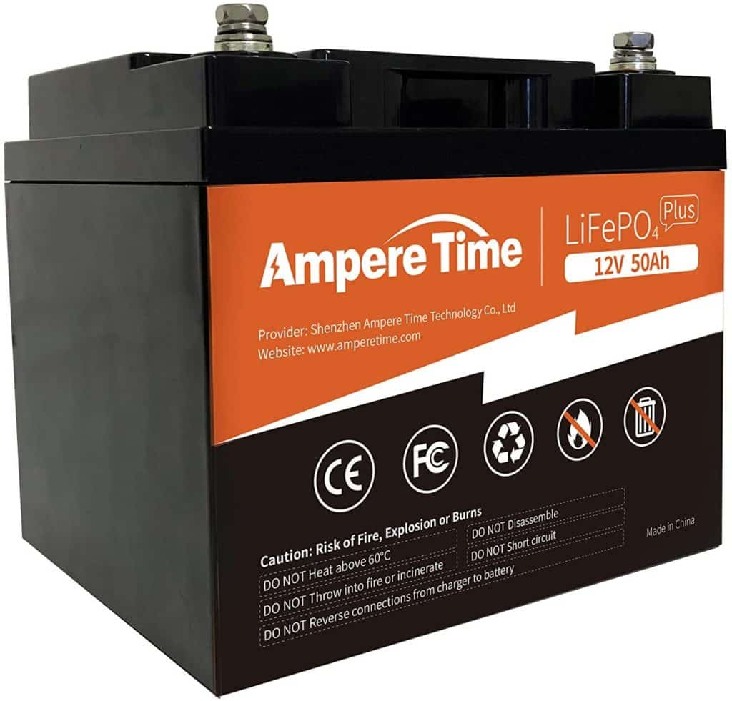 Ampere Time LiFePO4 Battery