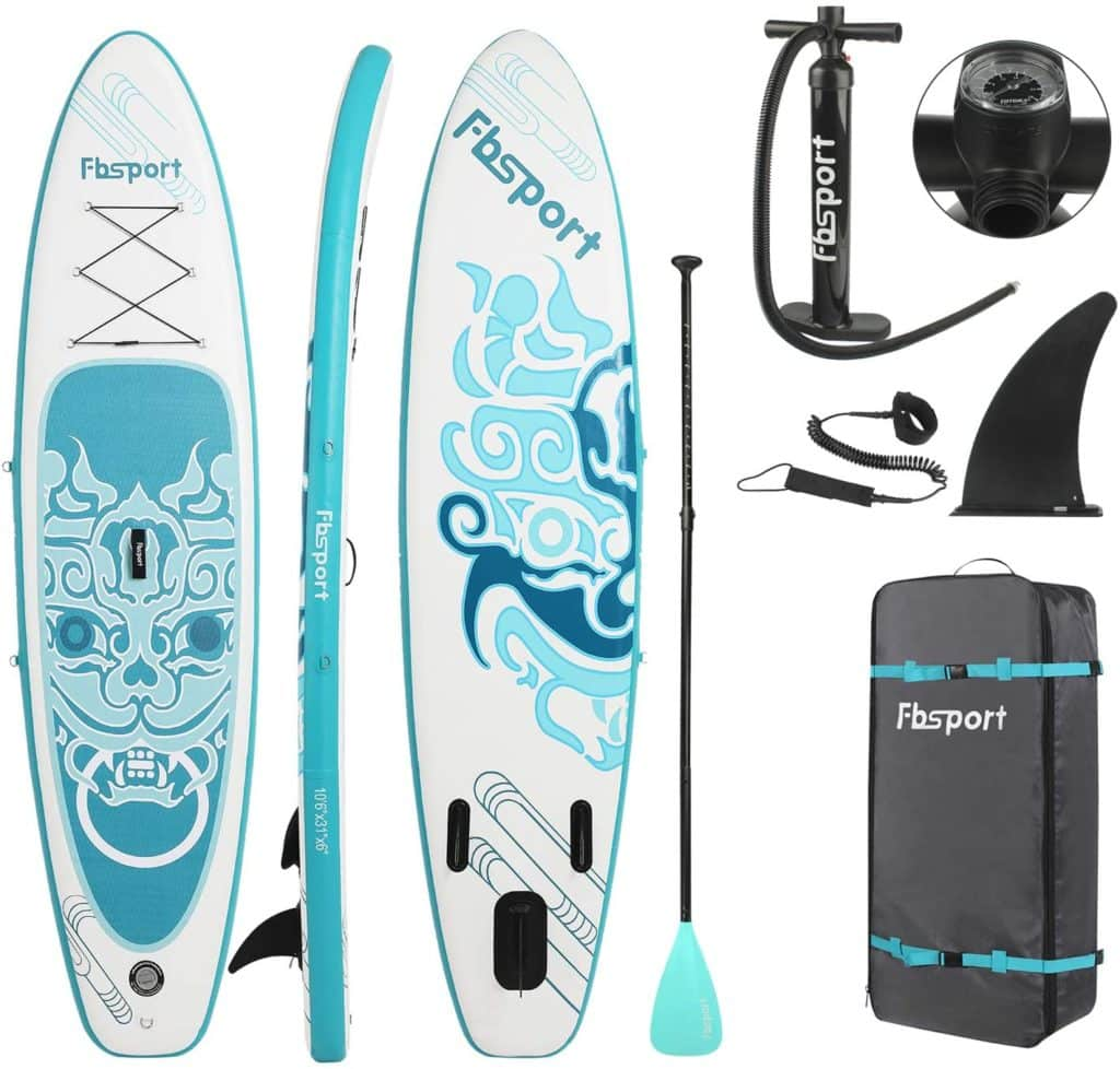 Premium Inflatable Stand Up Paddle Board (6 inches Thick)