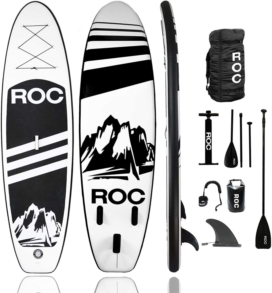 Roc Inflatable Stand Up Paddle Board