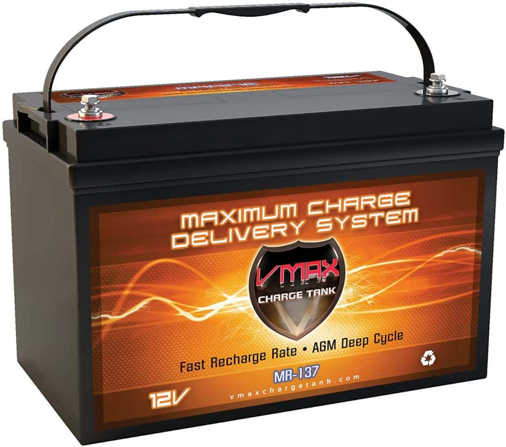 VMAX MR137-120 AGM Sealed Marine AGM Battery