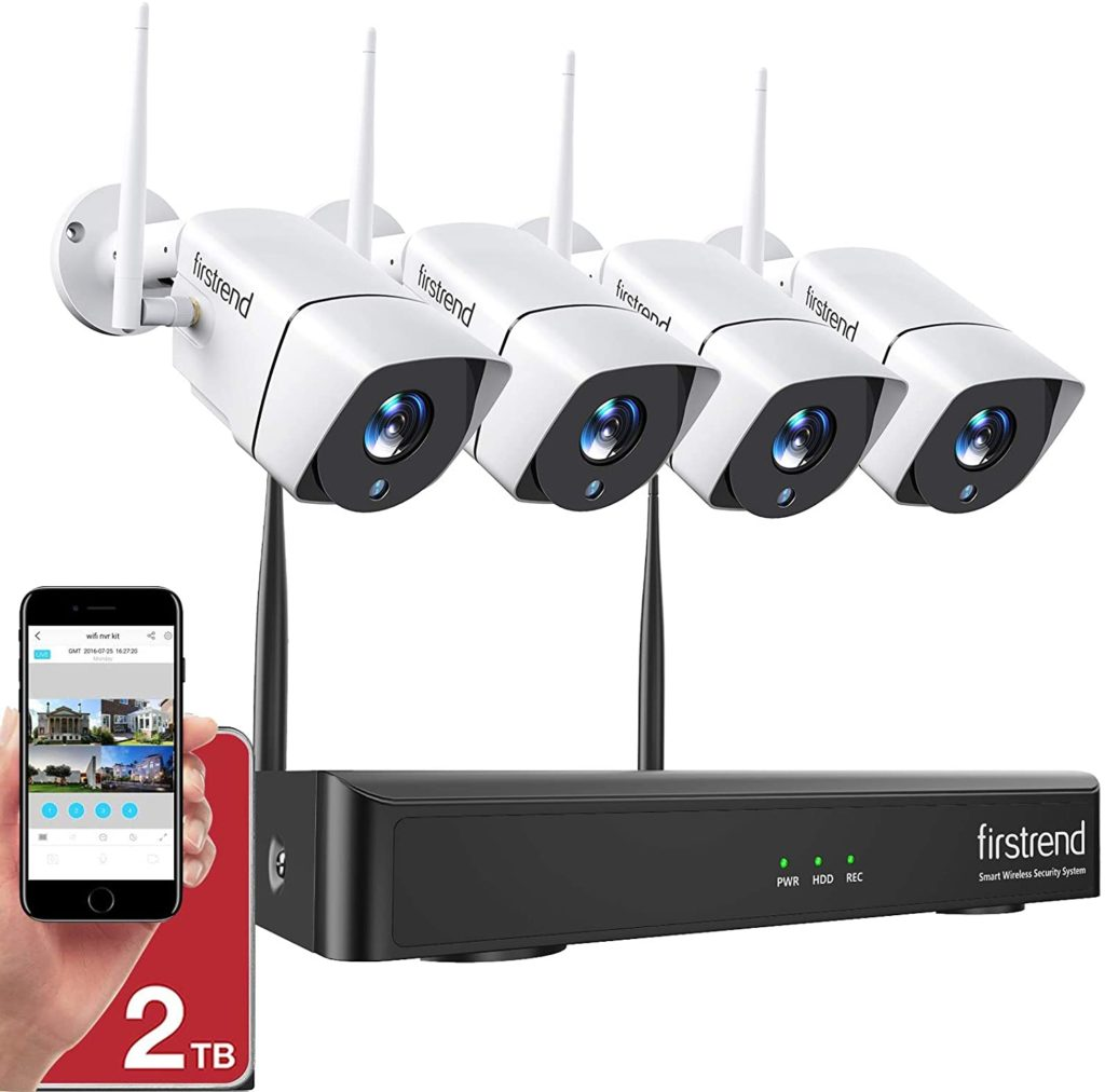 1080P Wireless Security Camera System by Firstrend