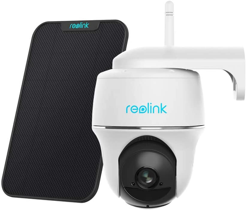 Reolink Argus PT with Solar Panel Security Camera System